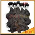 ¡AAAAAA productos de pelo sintéticos! Fa Yuan más popular de onda indio sin procesar