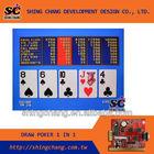 PCB Poker game - Draw poker ( 1 IN 1 game )