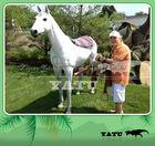 life size fiberglass decoration horse statue