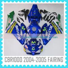 ABS Fairing body Kit headlight fairings for HONDA CBR1000RR 2004-2005 china fairings motorcycle