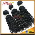 Aliexpress brasileira extensão do cabelo macio& lisa tecer cabelo brasileiro
