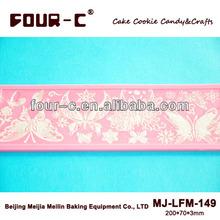 Edible cake lace Magic decor silicone sugar lace mat for cake decorating