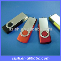 Most popular promotional gifts swivel usb flash,bulk 1gb usb flash drives