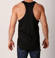 custom y back preshrunk 100% cotton casual long vest for men