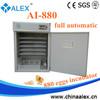 high quality incubator mini quail incubator AI-880 egg candling equipment