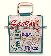jute shopping bag for promotions