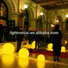 High quality Li-on battery led light balls,big ball led light