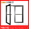 thermal break aluminum casement window with double glazed low-E glass and German brand hardware