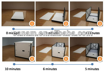 folding container house/flat pack/movable house for storage / office /warehouse /living