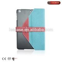 2014 New simple design Flip PU case for ipad mini