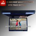 15 pulgadas tv para bus con reproductor DVD USB SD FM IR funciones