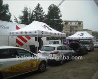 3x4.5m aluminum car parking canopy