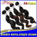 venta al por mayor de la cutícula completo 6a superior virgen humanos extensiones de cabello remy