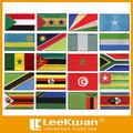 verschiedene Arten flagge patches für alle länder