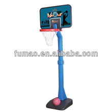 Baby plastic basketball stand
