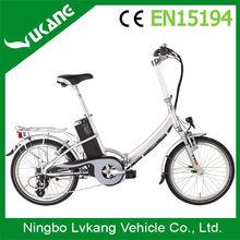Lithium battery folding mini folding e bike EU standard for bike trailers