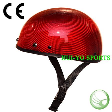 half shell motorcycle helmet, Carbon fiber helmet, open face helmet