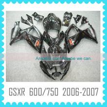 For SUZUKI GSXR 600 750 2006-2007 motorcycle fairing kit