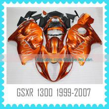 Quality ABS motorcycle Fairing for SUZUKI GSXR 1300 hayabysa 1997-2007 2002 2003 2004 body work