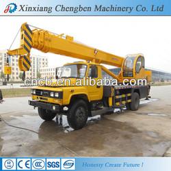 Mobile Driving Telescopic Stick Truck Crane Manufacturer