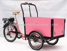 electric family cargo bike three wheel mini car