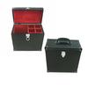 briefcase handle handmade vintage huge bulk leather wine case