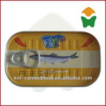 good taste canned sardines preservatives 125gX50tins