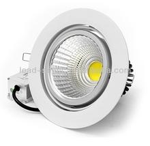 LED Dispaly down Light,15 watt Citizen Cob,12vDC/230vAC