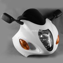 For Suzuki Hayabusa GSX1300R 1999-2007 motorcycle Headlight,upper fairing,mirror,Windscreen