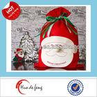2014 new alibaba factory elegant fabric christmas gift bags