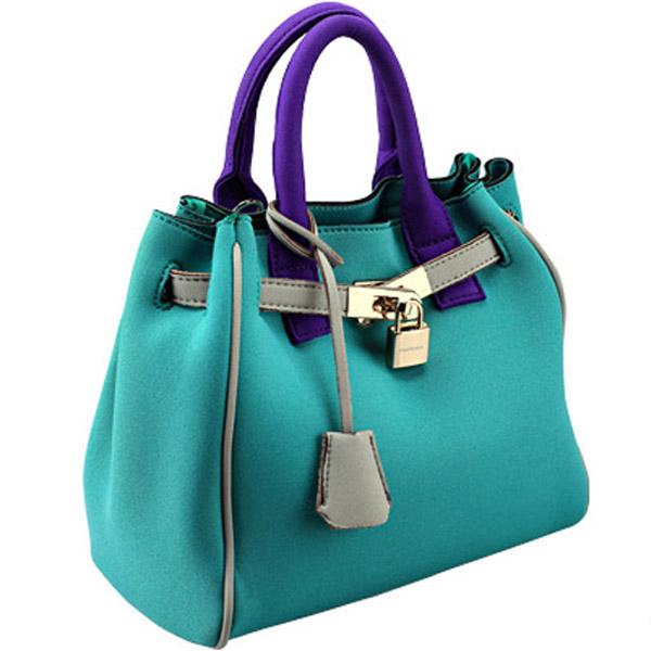 Neoprene fashion bag Italian brand fashion bag fashion handbag