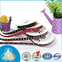 Custom woven jacquard ribbon for dog collar