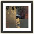 enmarcado abstracta de la pared cuelgan imágenes en 3d