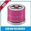 relaxation new car smell air freshener with glass bottle