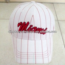 Fashion accessories wholesale products china rugby caps and embroidery white baseball cap (W-674)