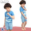 "Baby toddler homewear bambini pigiameria pigiama set"" balena blu"""
