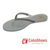 Fashion hot seller white jelly sandals slipper for women