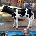 بلدي-- الديناصور حيوان الكرتون التماثيل حيوانات المزرعة مطلوب الألياف الزجاجية حيوان البقر