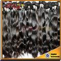 Baratos prima virgen remy del pelo humano extensiones, venta al por mayor sin procesar cabello virgen brasileño