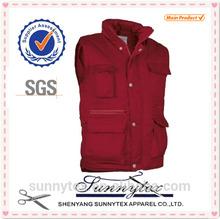 2013 Hot Selling Men Winter Working Vest