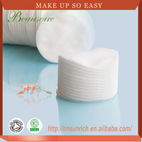Skin care absorbent cosmetics cotton pads