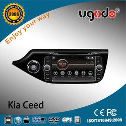 ugode new 2013 2014 Kia Ceed radio with DVD GPS radio bluetooth AD-6048