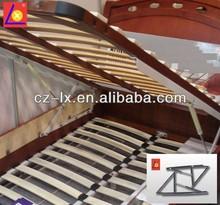 Furniture hardware gas spring bed frame
