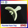 Dental descartável material bandeja de espuma, espuma de poliestireno bandeja