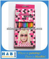 wooden glitter color pencil