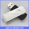 Libre de la insignia usb flash drive, Usb del eslabón giratorio unidades envío de la muestra, A granel 16 gb usb flash drives