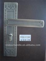 Bulk door locksparts new style handle lock plate door lock