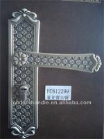 Antique door locks home style handle lock plate door lock