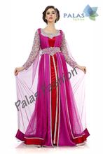 Moroccan Kaftan Dress - Dubai Arabic Jacket Caftan
