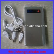 2014 hot sell in ebay ultra thin aluminum power bank